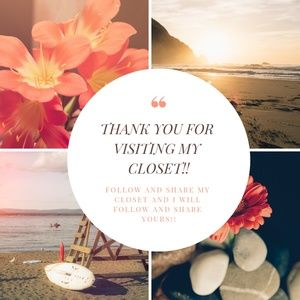 Other - THANK YOU FOR VISITING MY CLOSET